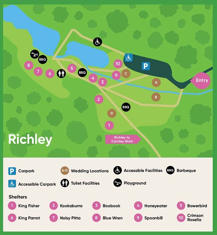 View the Richley map