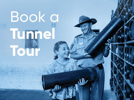 Explore the history with a guided Tunnel Tour