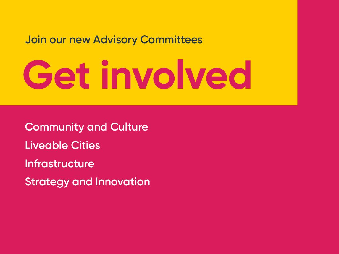 Join our new Advisory Committees