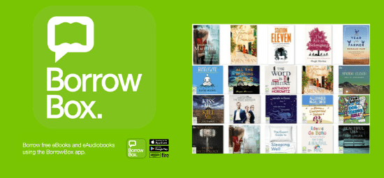 New multi-use titles available now on BorrowBox!