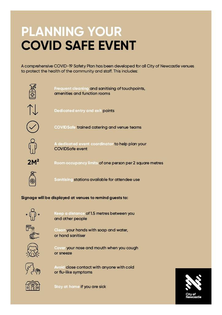 Planning Your Covid Safe Event