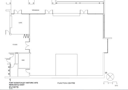 Fort Scratchley Function Centre Floor Plan
