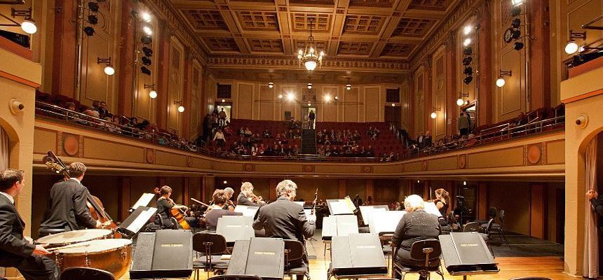 Newcastle City Hall Concert Hall Performance