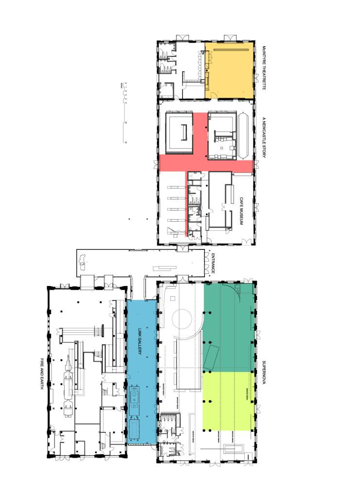 Newcastle Museum Floor Plan