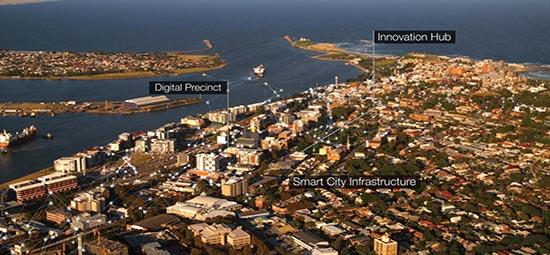smart city program city of newcastle