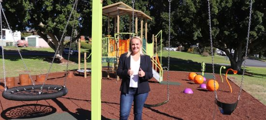 City invests in playground renewal as families find fun closer to home