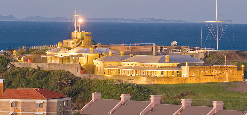 Fort Scratchley open Sundays only