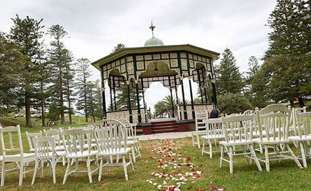 King Edward Park rotunda